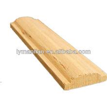 moldagem de teto de madeira de teca