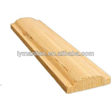 потолок из тикового дерева