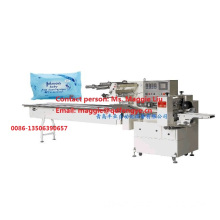 Automatic Wet Tissues Packaging Wrapping Machine