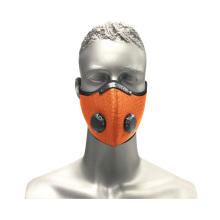 Mascarilla facial de polvo para ciclismo deportivo al aire libre