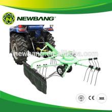 Hay Raker rotatif, faneur, râteau à tracteur et faneuse