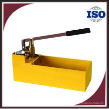 HSY30-5 pompe à haute pression d'essai, pompe d'essai de pression hydraulique manuelle