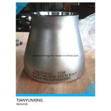 Saf2205 Uns32750 Racores de tubería Dúplex de acero inoxidable reductor