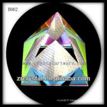 K9 Colorful Crystal Pyramid