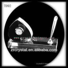 Wonderful K9 Crystal Clock T092