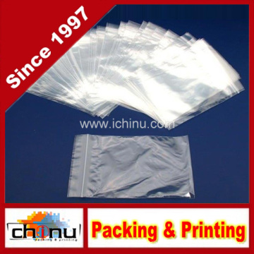 Poly Bag Zipper Resealable Plastic Shipping Bags (940016)