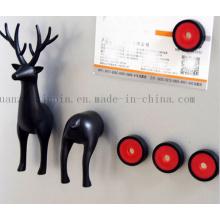 Aimant de réfrigérateur en plastique d'OEM 3D pour le souvenir de promotion