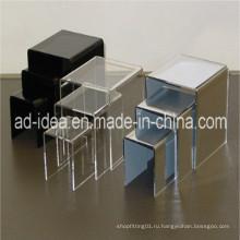 Акриловый дисплей для обуви, стойка из плексигласа, акриловая стойка, акриловый дисплей (AD-006)
