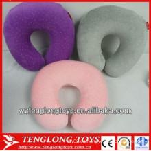 Fábrica de al por mayor cómodo de memoria de espuma U-forma cuello almohada