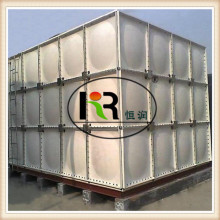GRP Modular Panel FRP Tanque de agua / SMC Rectangular Water Storage Tank
