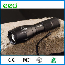 2015 hot sale cheap powerful rechargeable battery led flashlight torch