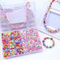 Venta caliente DIY cuerda perlas juegos de juguetes para niñas juguetes educativos