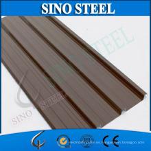 Placa de acero corrugada recubierta de color duro completo G550 para techo