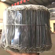 Factory price double loop bag tie wire Galvanized Loops wire Black Annealed Double loops wire