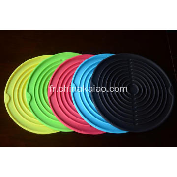 Lavabo auto-drainant Silicone Mat Mat Holder