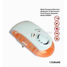 On Off Switch Night Lamp ultra-sônico Plugue de repelente de pragas