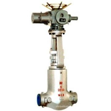 Válvula de compuerta de alta temperatura de la central eléctrica (Z941H)