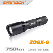 Maxtoch ZO6X-6 750 люмен 1 * 18650 IPX7 Cree XM-L T6 зум