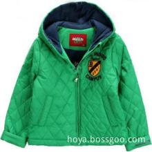 Fashion boys winter jacket manufacturer