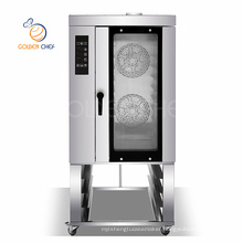 Golden Chef Bakery Equipment Manufacturer Stainless Steel Bread Commercial Convection Ovens 5 10 Trays Electric Convection Oven