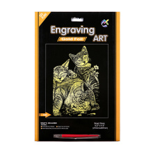 Scratch Art Magic Combo Pad Toy Scratch Cards