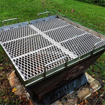 Grill Grill Stainless Steel Expanded Metal Mesh