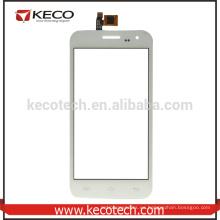 Negro o blanco digitizador de pantalla táctil delantero para Doogee DG310 teléfono táctil panel