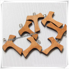 Wood Cross, Rosary Crucifix, Wooden Cross (IO-cw035)