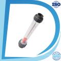Lzs-15 Dn15 Water Plastic Tube Rotameter Industry Flow Meter (6-60L/H, short tube)