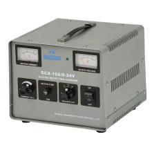 Cargador de batería del rectificador del silicio de la serie de GCA 6-24V 10A
