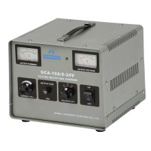 GCA Series Silicon Rectifier Battery Charger 6-24V 10A