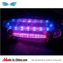 Haute qualité LED Fleshing Penny Skateboard pour la vente bon marché