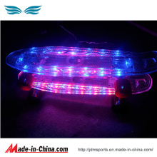 High Quality LED Fleshing Penny Skateboard for Cheap Sale