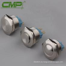 Botón pulsador redondo antivandalismo de cabeza levantada de 30 mm CMP