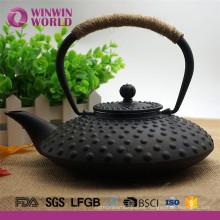 Amazon Christmas Gift Acero inoxidable 18 8 infusor de té olla de hierro fundido