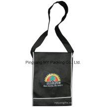 Bolsa de hombro laminada no tejida laminada PP de la publicidad aprobada del fabricante