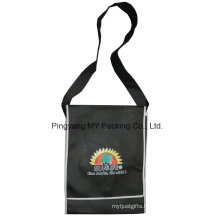 Approved Manufacturer Advertising PP Laminated Nonwoven Shoulder Bag