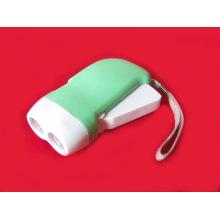 2 LED Hand Press Lampe de poche