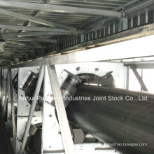 Rubber Pipe Conveyor Belt/Tubular Conveyor Belt Application in Coal Mine