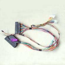 Auto dashboards console-specific wiring harnesses