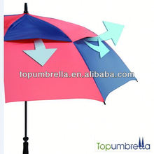 2017 new funny nice uv protection windproof golf umbrella