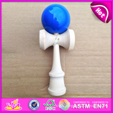 Colorful Kendama for Wholesale, Colorful Kendama with High Quality for Kendama Games, Wooden Kendama Toy with 25*9*8 Cm W01A033