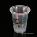 O 14oz personalizou copos plásticos descartáveis materiais da bebida dos PP