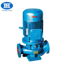 pompe à eau électrique centrifuge 7.5hp pipeline vertical