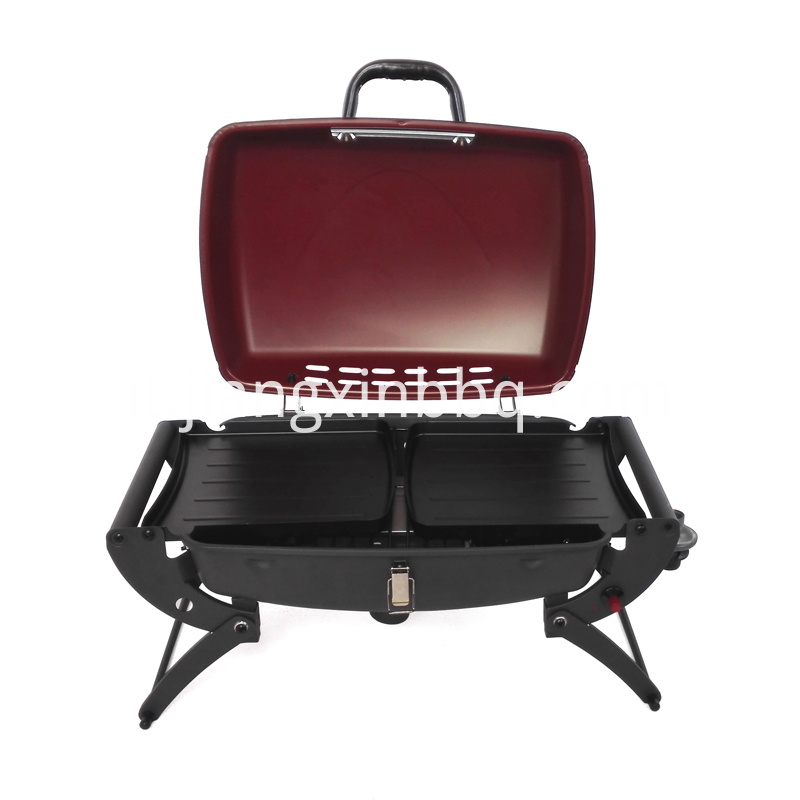 Outdoor Portable And Foldable Gas BBQ With Trolley