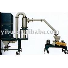 Máquina de trituração usada em alimentos