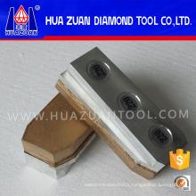 Bloc de meulage parfait de diamant de polissage utilisé sur la machine de Werkmaster