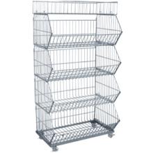 Top Verkauf Großhandel Lagerung Container faltbarer Behälter Vorratsbehälter und Lagerung