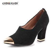 wholesale black women party dress high heel shoes paypal/dropship