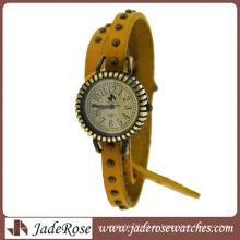 Venta al por mayor de relojes de cuarzo de alta calidad reloj de señoras que restaura maneras antiguas de reloj